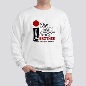 I Wear Pearl For My Brother 9 Sweatshirt