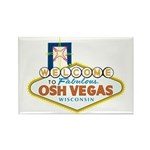 Osh Vegas Rectangle Magnet (10 pack)