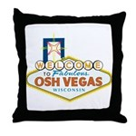 Osh Vegas Throw Pillow