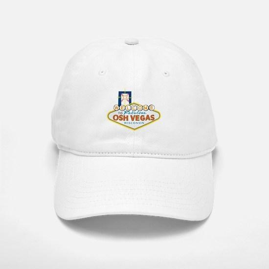 Osh Vegas Baseball Baseball Cap