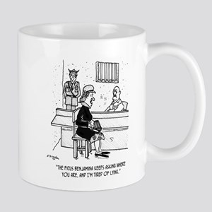 Prison Cartoon 9493 Mug