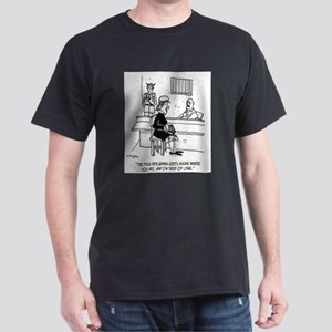 Prison Cartoon 9493 Dark T-Shirt