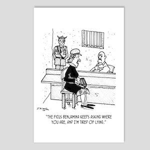 Prison Cartoon 9493 Postcards (Package of 8)