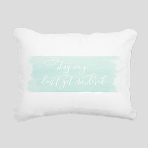 My Favorite Murder SSDGM Rectangular Canvas Pillow
