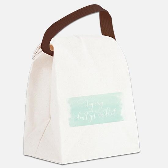 My Favorite Murder SSDGM Script Canvas Lunch Bag