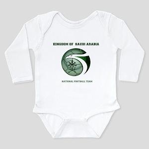 KSA KINGDOM OF SAUDI ARABIA FOOTBALL TEA Body Suit