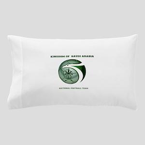 KSA KINGDOM OF SAUDI ARABIA FOOTBALL T Pillow Case