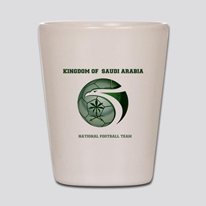 KSA KINGDOM OF SAUDI ARABIA FOOTBALL TE Shot Glass
