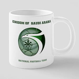 KSA KINGDOM OF SAUDI ARABIA FOOTBALL TEAM Mugs
