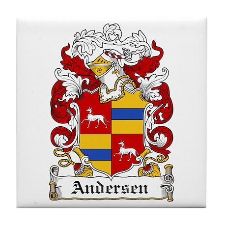 Andersen Coat of Arms Tile Coaster