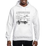 Chicken Cartoon 9484 Hooded Sweatshirt