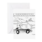 Chicken Cartoon 9484 Greeting Cards (Pk of 20)