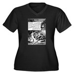 The Limited Mail 1899 Women's Plus Size V-Neck Dar