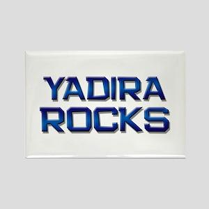 yadira rocks Rectangle Magnet