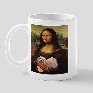 Mona Lisa Lhasa! Mug
