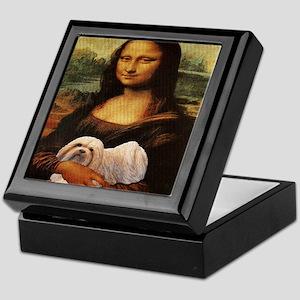 Mona Lisa Lhasa! Keepsake Box