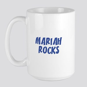 MARIAH ROCKS Large Mug