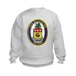 USS McCANDLESS Kids Sweatshirt
