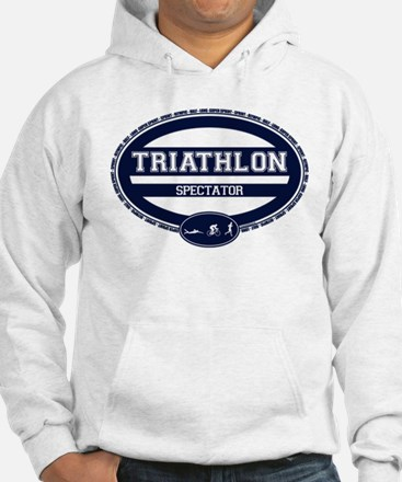 Triathlon Oval - Men's Spectator Hoodie