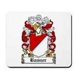 Banner Coat of Arms Mousepad