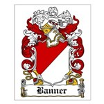 Banner Coat of Arms Small Poster