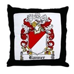 Banner Coat of Arms Throw Pillow