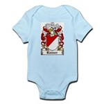 Banner Coat of Arms Infant Creeper