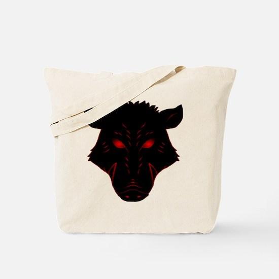 Razorback Logo Tote Bag