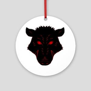 Razorback Logo Ornament (Round)