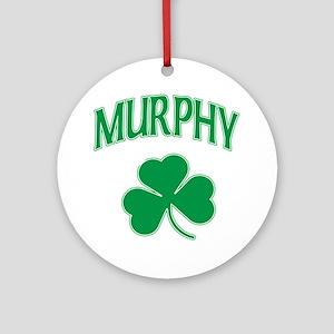 Murphy Irish Ornament (Round)
