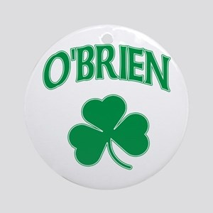 O'Brien Irish Ornament (Round)