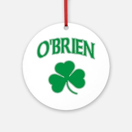 O'Brien Irish Ornament (Round)