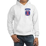 10th mountain division Mason Hooded Sweatshirt