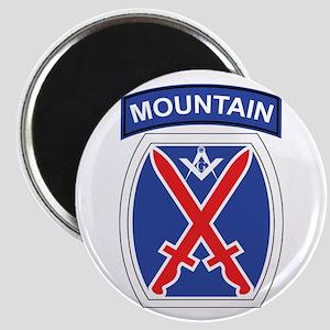 10th mountain division Mason Magnet