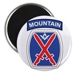 10th mountain division Mason Magnet