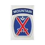 10th mountain division Mason Rectangle Magnet