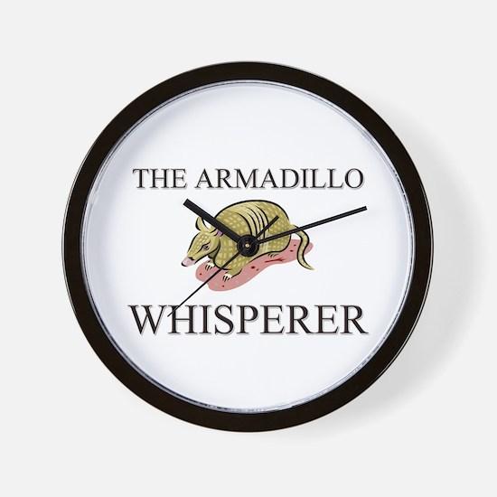 The Armadillo Whisperer Wall Clock