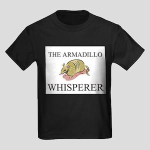 The Armadillo Whisperer Kids Dark T-Shirt