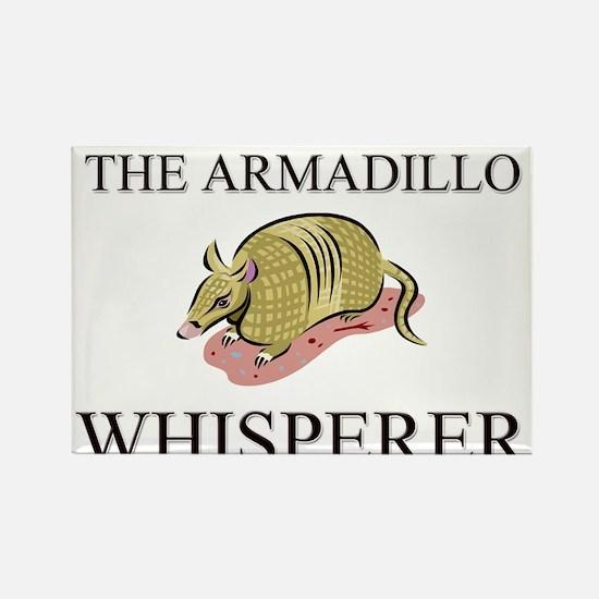 The Armadillo Whisperer Rectangle Magnet (10 pack)
