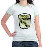 USS McCLOY Jr. Ringer T-Shirt