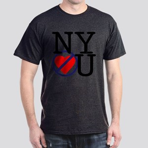 NY Don't Love You Dark T-Shirt