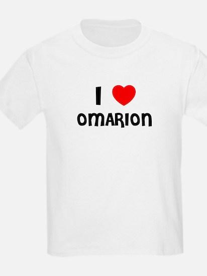 I LOVE OMARION Kids T-Shirt