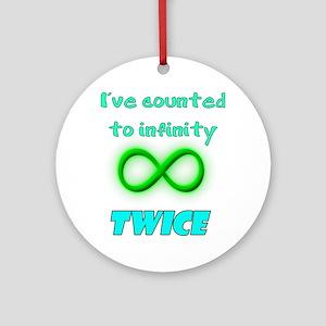 Infinity Ornament (Round)