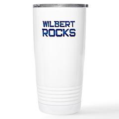 wilbert rocks Stainless Steel Travel Mug