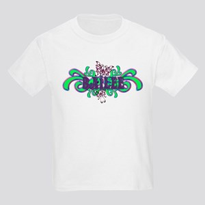 Bailee's Butterfly Name Kids T-Shirt