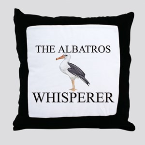 The Albatros Whisperer Throw Pillow