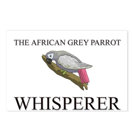 The African Grey Parrot Whisperer Postcards (Packa