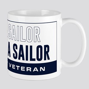 U.S. Navy Once A Sailor Mug