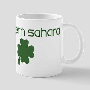 Western Sahara shamrock Mug