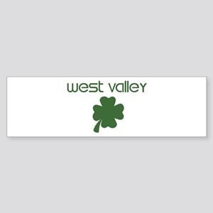 West Valley shamrock Bumper Sticker
